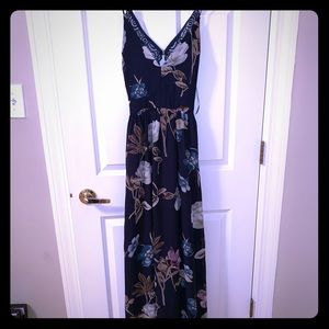 Long dress.